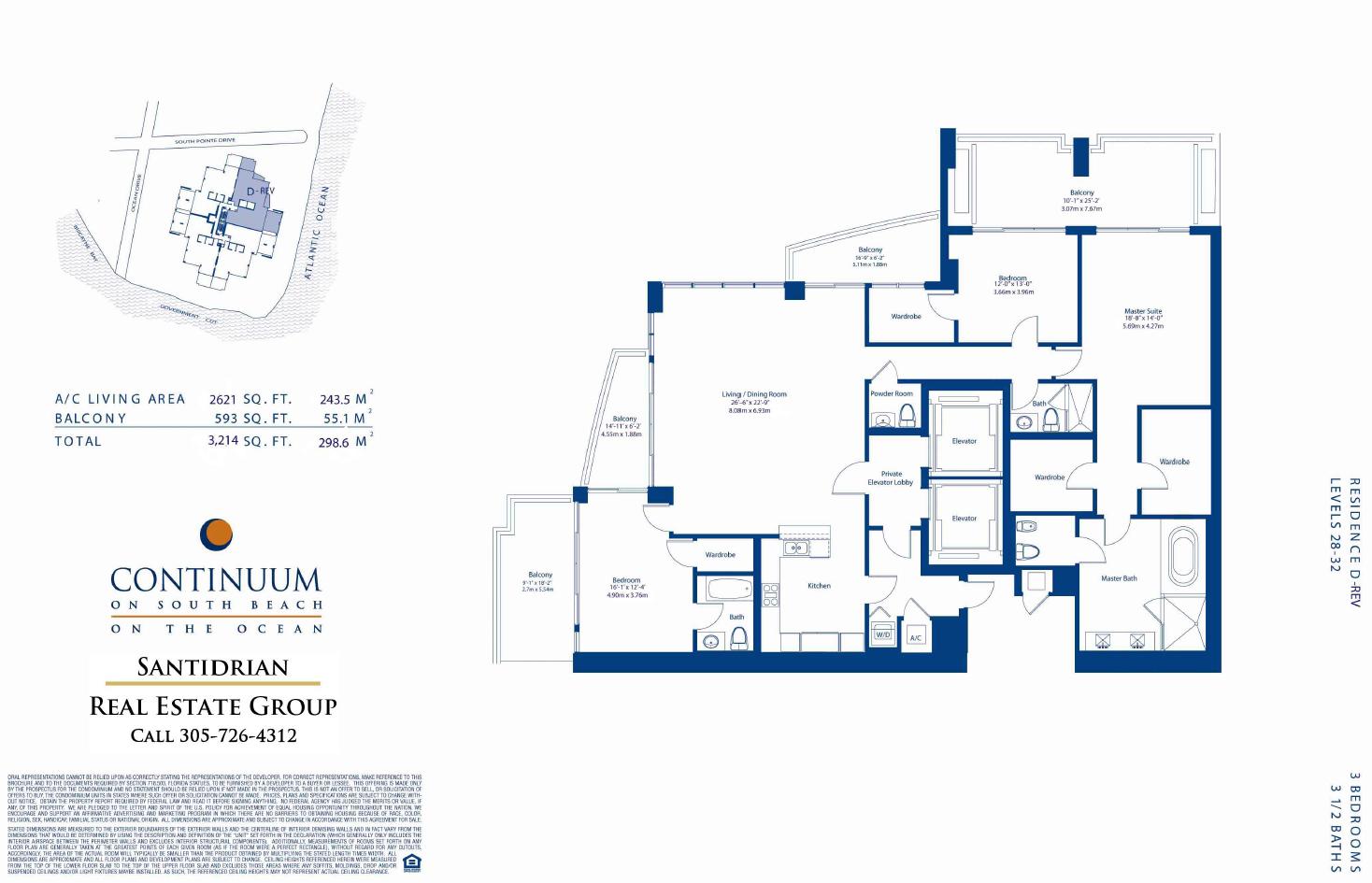 miami continuum south beach condo continuum north tower residence d rev · continuum north tower residence e · continuum north tower residence e modified